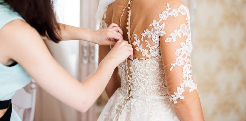 Brautkleid fertig nähen